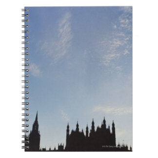 Palacio de Westminster Libros De Apuntes Con Espiral