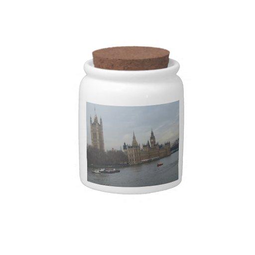 Palacio de Westminster Platos Para Caramelos