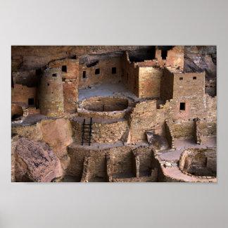Palacio del acantilado, Mesa Verde, Colorado Póster
