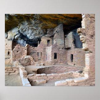 Palacio del acantilado, parque nacional del Mesa Póster