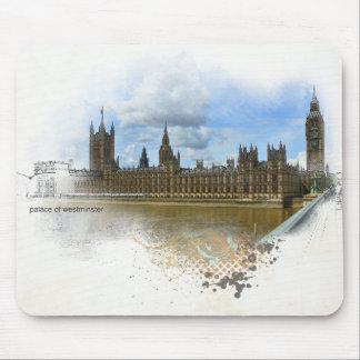 Palacio del arte de Westminster Mousepads
