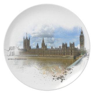 Palacio del arte de Westminster Plato De Comida