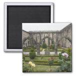 Palacio del arzobispo de Braga con el jardín Imanes De Nevera
