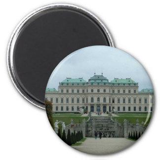 Palacio del belvedere imán redondo 5 cm