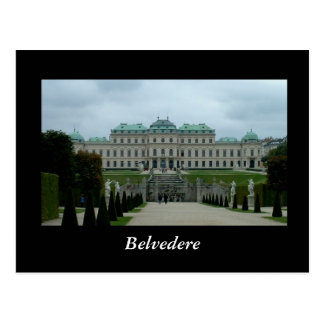 Palacio del belvedere postales