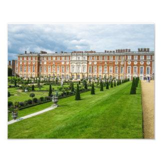 Palacio del Hampton Court, Londres - impresión de Cojinete