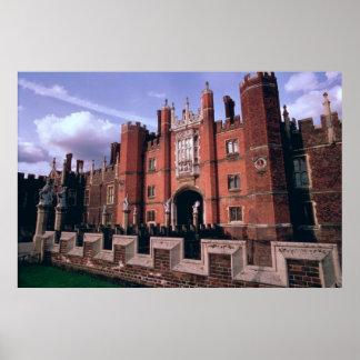 Palacio del Hampton Court Póster