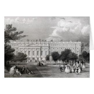 Palacio del Hampton Court Tarjeta De Felicitación