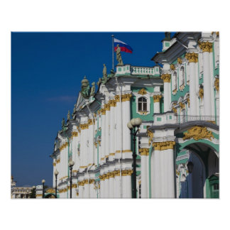 Palacio del invierno y museo de ermita póster