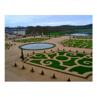 Palacio del jardín de Versalles en la Tarjeta Postal