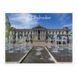 palacio del nacional de San Salvador Tarjetas Postales