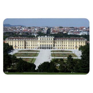 palacio del schönbrunn imán rectangular