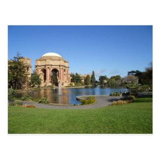 Palacio del teatro de bellas arte San Francisco Tarjetas Postales