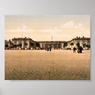 Palacio del Trianon magnífico, cl de Versalles, Fr Poster