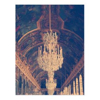 Palacio del Versalles-pasillo de espejos Postal