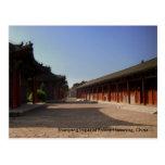 Palacio imperial l Liaoning, China de Shenyang Postales