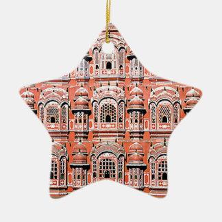 palacio la India de Jaipur Adorno Navideño De Cerámica En Forma De Estrella