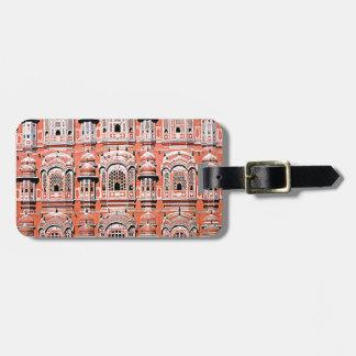 palacio la India de Jaipur Etiqueta De Maleta