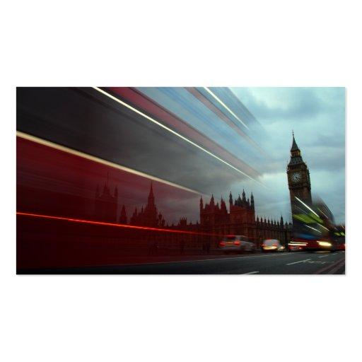 Palacio Londres Inglaterra de Westminster con el Tarjetas De Visita