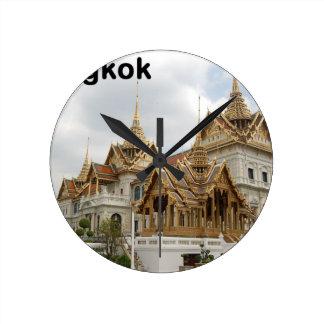 Palacio magnífico de Tailandia Bangkok (nuevo) (St Reloj Redondo Mediano