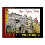 Palacio nacional de Pena, Sintra, Portugal Postal