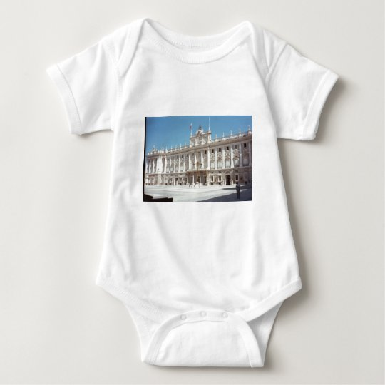 Palacio Real, Madrid Baby Bodysuit