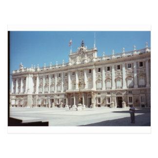 Palacio real, Madrid Postal