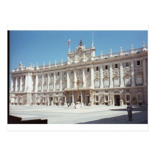 Palacio real, Madrid Tarjetas Postales