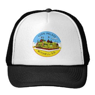 Palacio retro Dakota del Sur del maíz del kitsch d Gorro