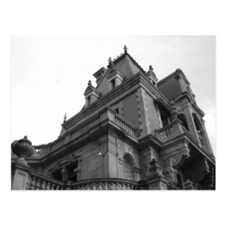 Palacio romántico neogótico Massandra Tarjetas Postales