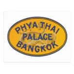 Palacio tailandés Bangkok de Phya Tarjeta Postal