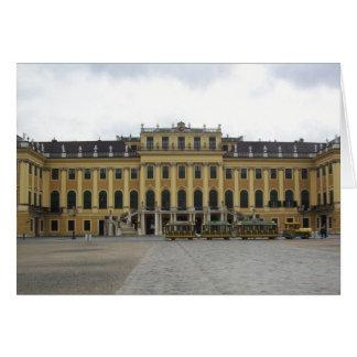 Palacio Viena Austria de Schonbrunn Tarjeta De Felicitación