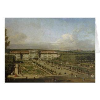 Palacio y jardines, 1759-61 de Schonbrunn Tarjeta De Felicitación