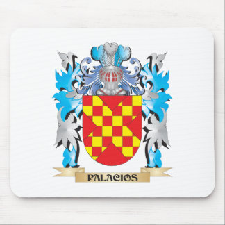 Palacios Coat of Arms - Family Crest Mouse Pad