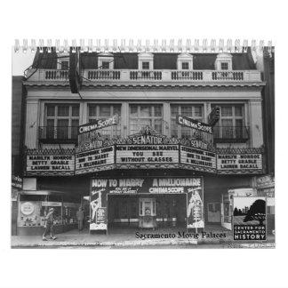 Palacios de la película de Sacramento Calendario De Pared