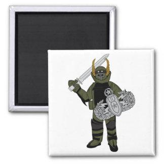 Paladin Bomb Suit Refrigerator Magnet