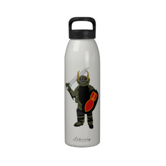Paladin Bomb Suit Water Bottles