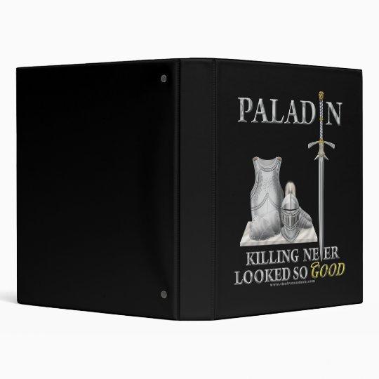 Paladin: Killing Never Looked So Good 3 Ring Binder
