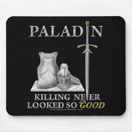 Paladin: Killing Never Looked So Good Mouse Pad