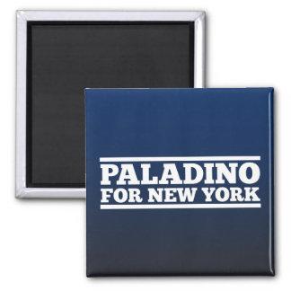 Paladino para Nueva York Imán Cuadrado