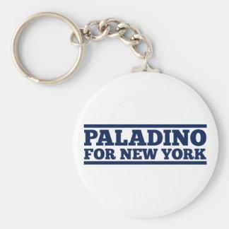 Paladino para Nueva York Llavero Redondo Tipo Pin