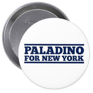 Paladino para Nueva York Pin Redondo De 4 Pulgadas