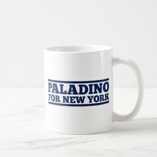 Paladino para Nueva York Tazas De Café