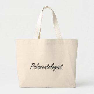 Palaeontologist Artistic Job Design Jumbo Tote Bag
