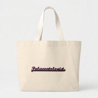 Palaeontologist Classic Job Design Jumbo Tote Bag