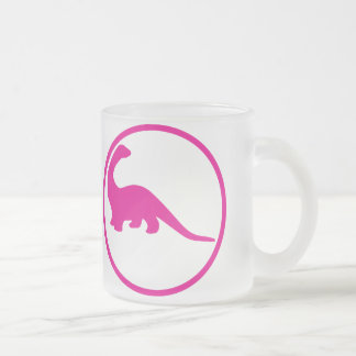 Palaeontologist: I actually became one Frosted Glass Coffee Mug