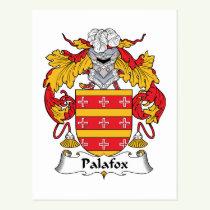 Palafox Family Crest Postcard