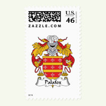 Palafox Family Crest Stamps
