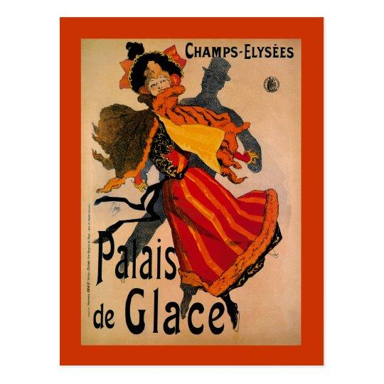 Palais De Glace, 1896 Art Nouveau Advertisement Postcard