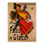 Palais De Glace, 1896 Art Nouveau Advertisement Poster